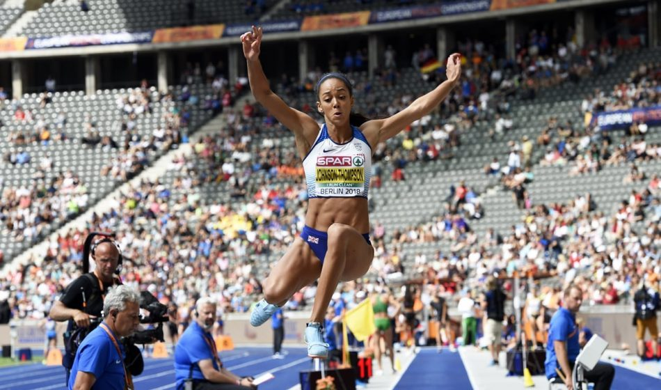 Katarina Johnson-Thompson on course for Euro medal and PB