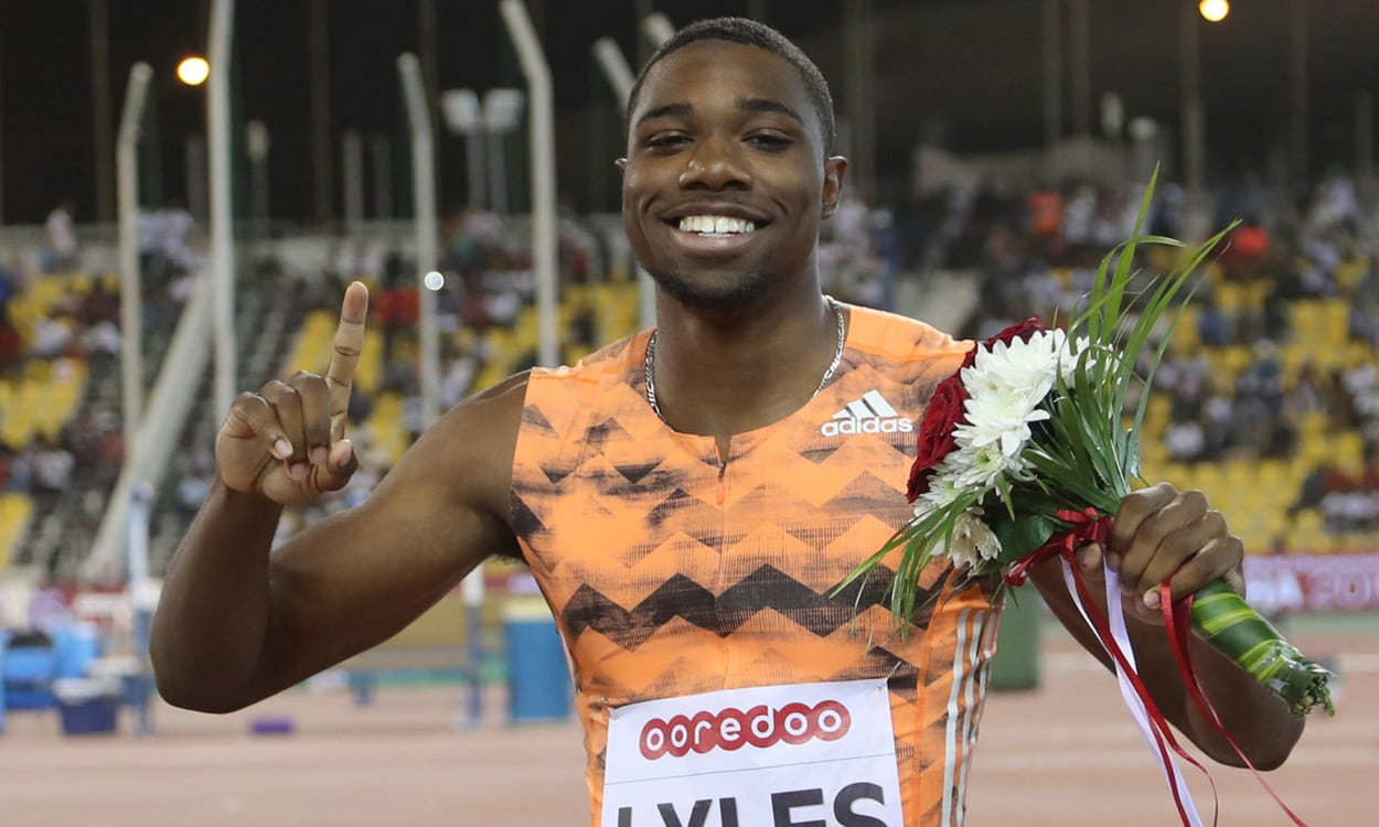 Noah Lyles edges Christian Coleman in Shanghai sprint showdown
