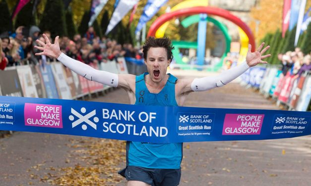 Chris Thompson makes it two in a row in Glasgow