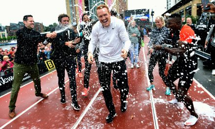Emotional farewell for Greg Rutherford