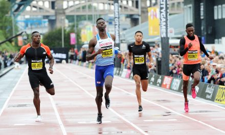 Reece Prescod finishes season in style