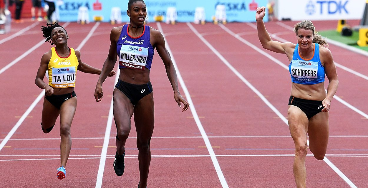 Shaunae Miller-Uibo leads Americas to easy win in top-quality Ostrava contest