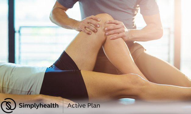 Simplyhealth Active Plan – how sports massage can keep you in peak form