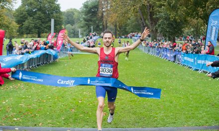 Charlie Hulson and Anna Moller claim Cardiff Cross crowns