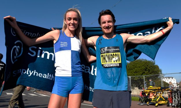 Chris Thompson and Eilish McColgan shine at Great South Run