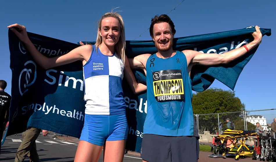 Chris Thompson and Eilish McColgan shine at Great South Run