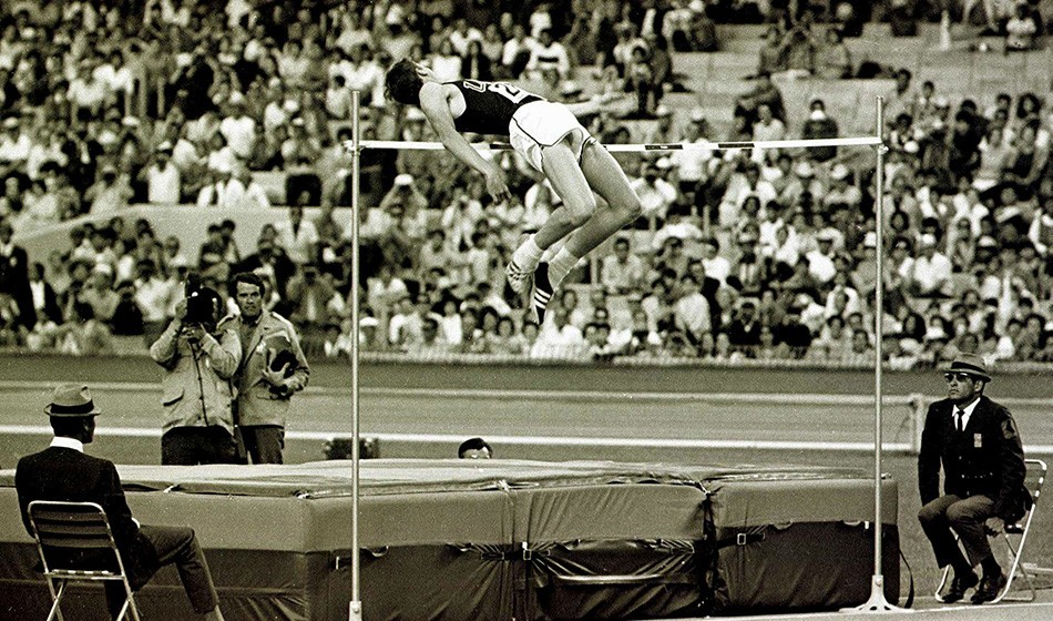 Dick Fosbury is no flop