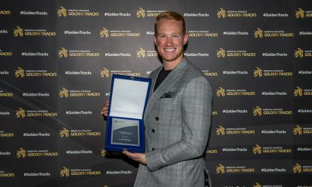 Greg Rutherford wins lifetime achievement award