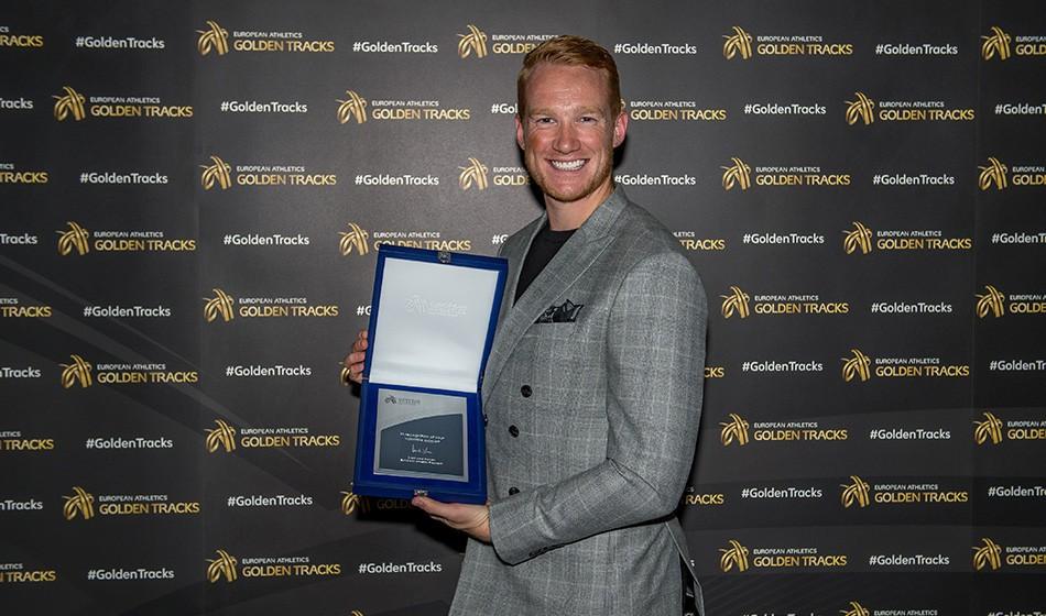 Greg Rutherford wins lifetime achievement award