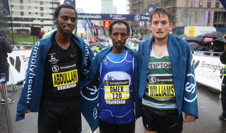 Refugee athlete lands Simplyheath Great Birmingham Run victory