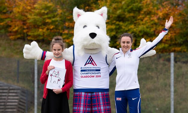 Laura Muir helps select 'Scottee' as Glasgow 2019 mascot