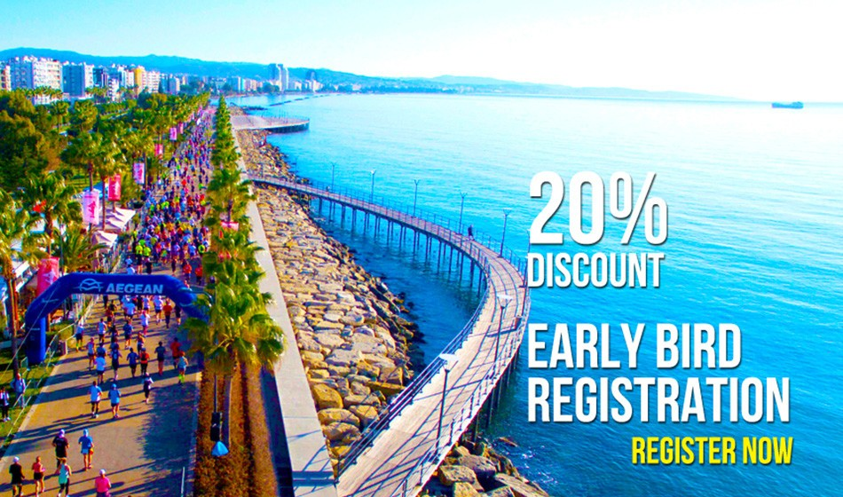 20% off OPAP Limassol Marathon GSO 2019