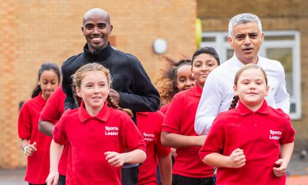 Mo Farah backs new Daily Mile campaign