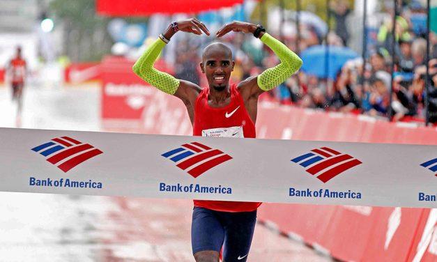 Mo Farah gets set for Chicago Marathon title defence