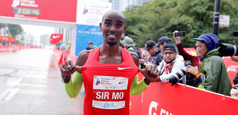 Mo Farah won't shy away from Eliud Kipchoge challenge