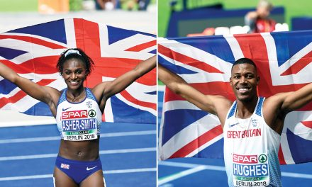 Dina Asher-Smith and Zharnel Hughes win BAWA honours