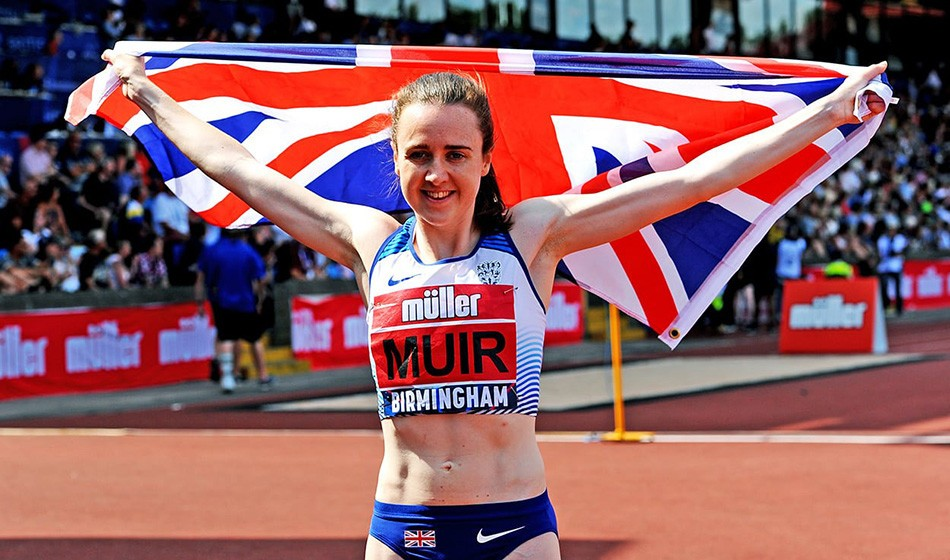 Olympic delay will benefit Laura Muir, says coach Young