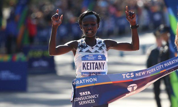 Mary Keitany targets title No.5 at New York City Marathon
