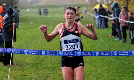 Kate Avery and Mahamed Mahamed win at Milton Keynes Cross Challenge