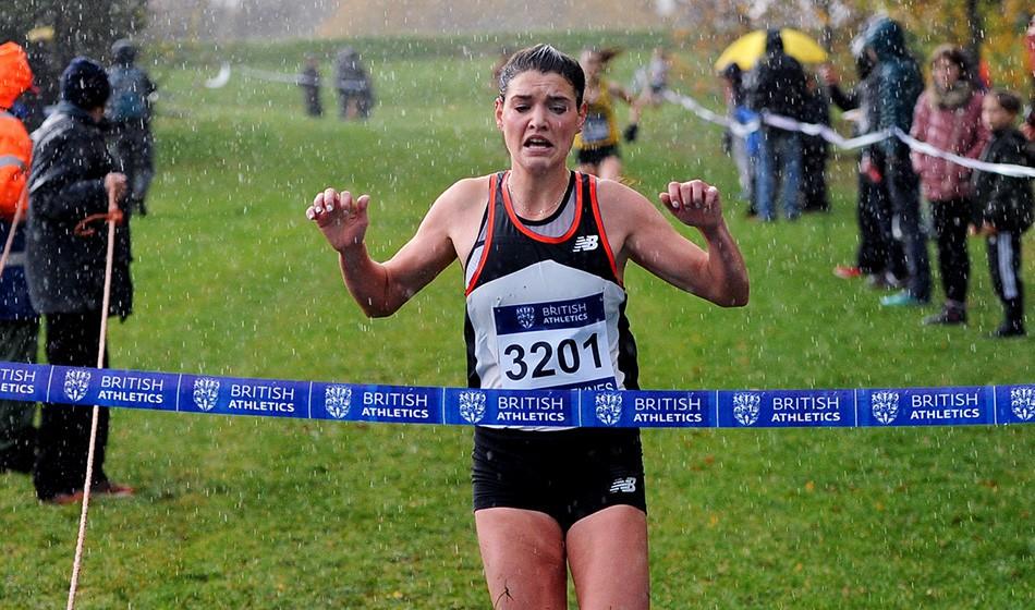 Kate Avery and Mahamed Mahamed win at Milton Keynes Cross Challenge