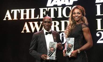 Eliud Kipchoge and Caterine Ibarguen named IAAF world athletes of the year
