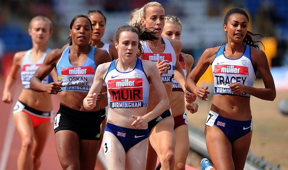 British rankings analysis: Women's track events