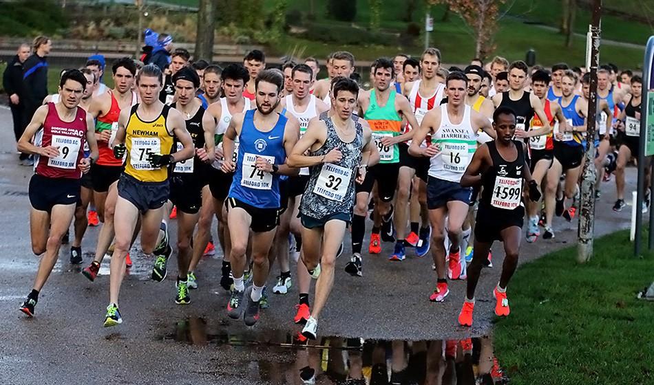Close racing at Telford 10km – weekend round-up