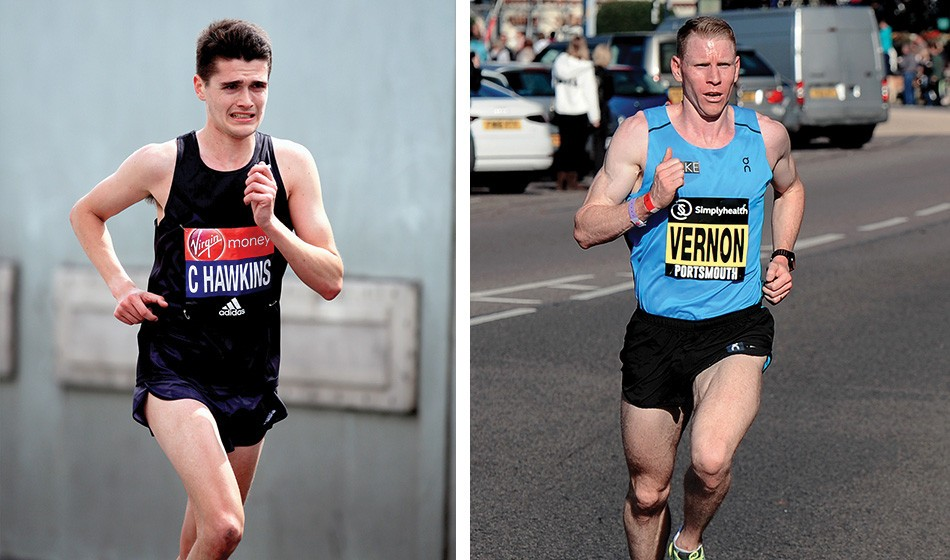 Callum Hawkins and Andy Vernon to run London Marathon