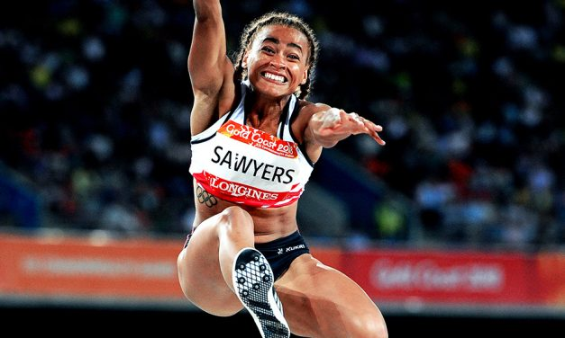 Jazmin Sawyers on her leap of faith