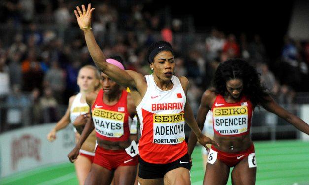 Former world indoor champion Kemi Adekoya provisionally suspended