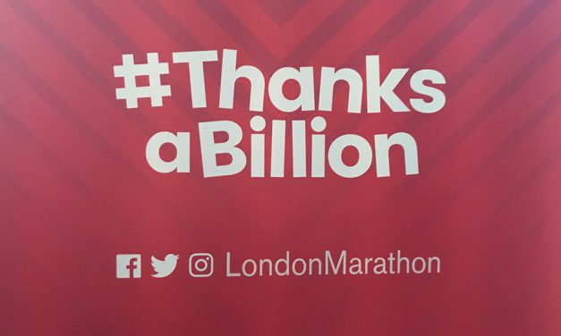 London Marathon launches #ThanksABillion campaign