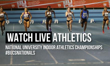 BUCS Indoor Athletics Championships live stream