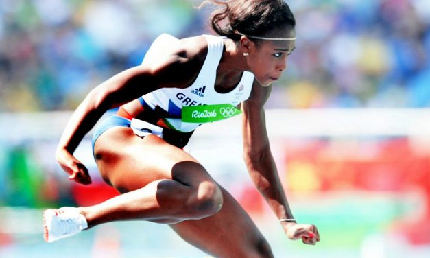 "Cindy Ofili: ""I don't feel scared to compete"""
