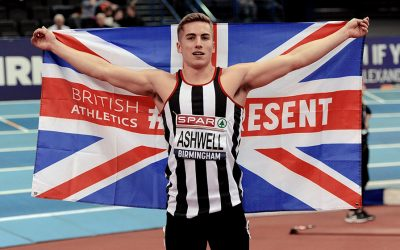 Dominic Ashwell sprints his way to British indoor title