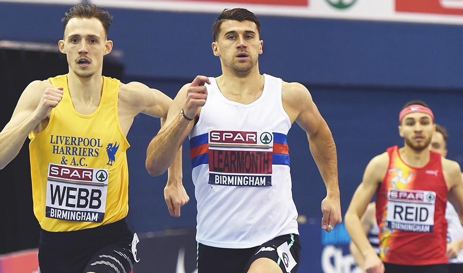 Guy Learmonth voted GB Euro Indoors team captain