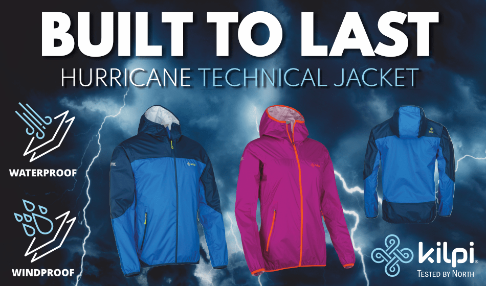 Win a Kilpi HURRICANE jacket worth £119.99