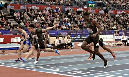 Su Bingtian and Reece Prescod show their pace in Birmingham