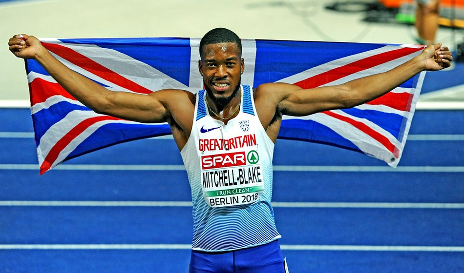 """Dwain Chambers is still no slouch. You've got to respect him,"" says Nethaneel Mitchell-Blake"