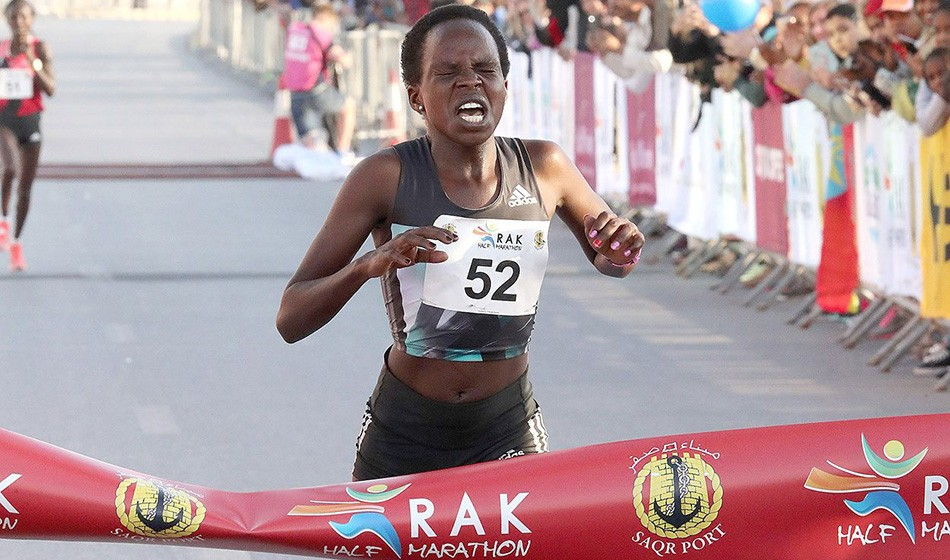 Peres Jepchirchir inspired ahead of Ras Al Khaimah return