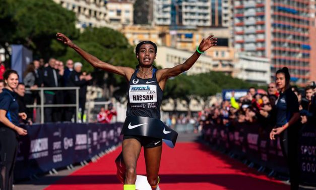 Sifan Hassan and Julien Wanders set world 5km records in Monaco