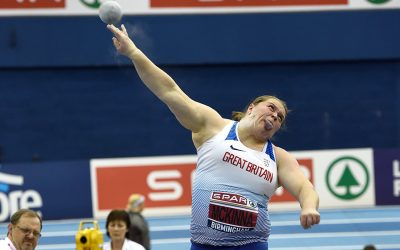 Sophie McKinna wins UK shot put title with big throw