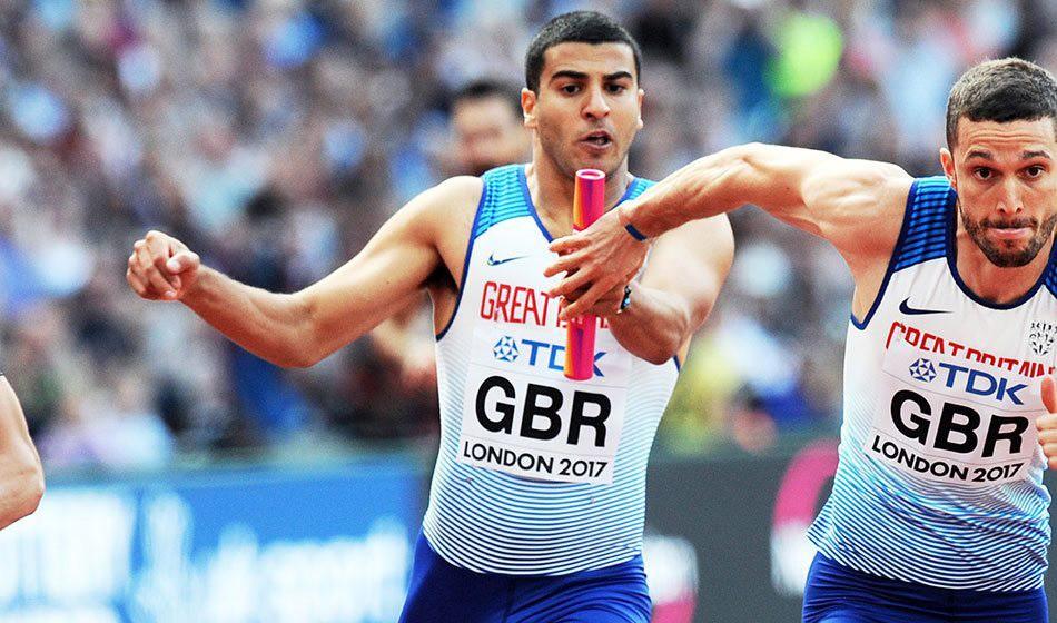 Adam Gemili and Asha Philip on GB team for IAAF World Relays