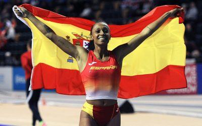 Ana Peleteiro leaps to gold in Glasgow