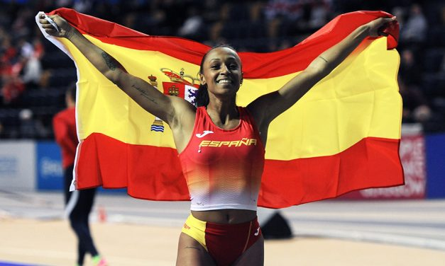 Ana Peleteiro leaps to gold in Glasgow