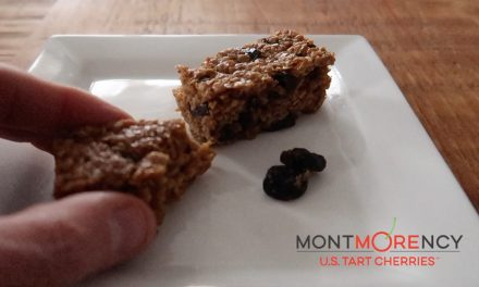 Recipe: Flapjacks with US Montmorency Tart Cherries