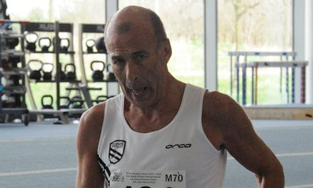 Ian Richards breaks race walk world record at World Masters
