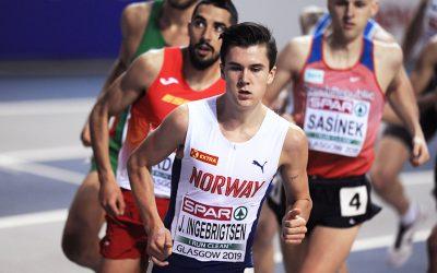 Jakob Ingebrigtsen on track for historic European indoor double