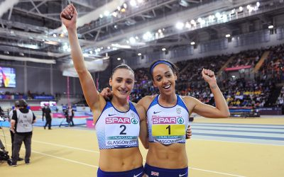 One-two for Katarina Johnson-Thompson and Niamh Emerson