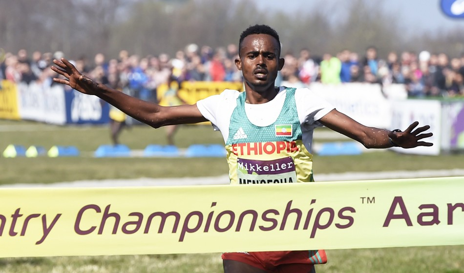 Junior gold for Milkesa Mengesha at World Cross