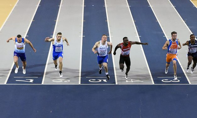 Richard Kilty's Glasgow dream ends as Jan Volko wins 60m